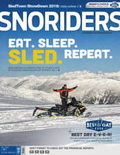 SnoRiders Magazine Fall  2018 Cover