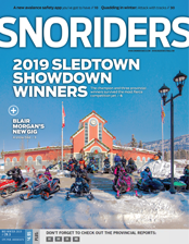 SnoRiders Magazine Mid Winter 2019 Cover