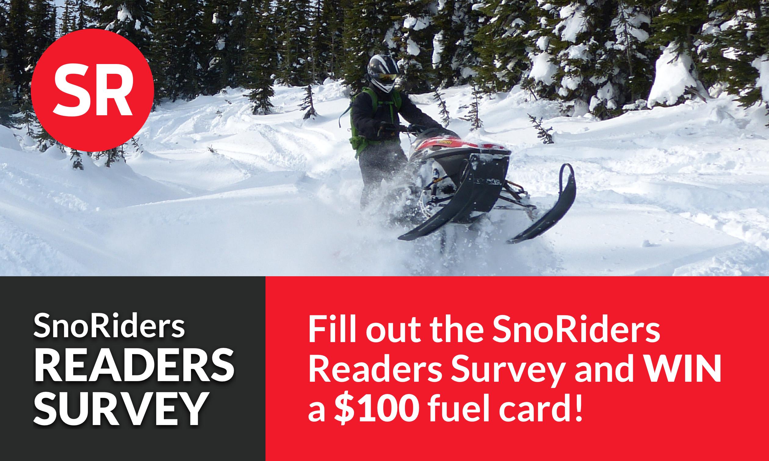 Take the SnoRiders Readers Survey