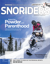 SnoRiders Magazine Winter 2017/2018 Cover