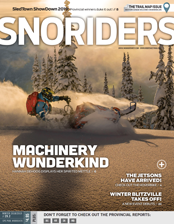 SnoRiders Magazine Winter 2018/2019 Cover