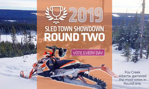 Fox Creek, Alberta, garnered the most votes in round 1.