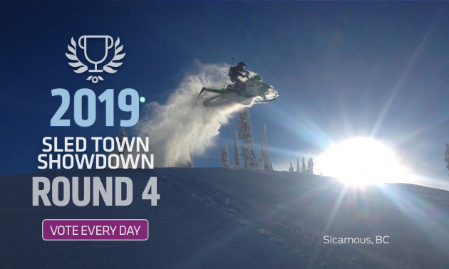 Sicamous is one of two B.C. finalists in the SledTown ShowDown competition.