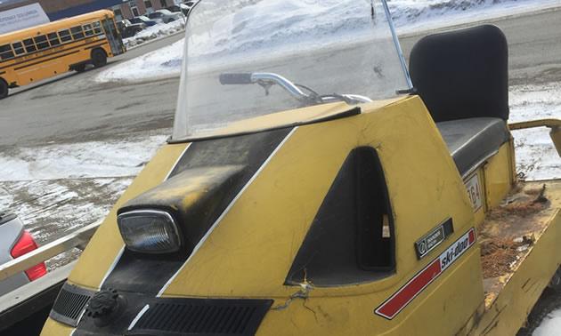 An '69 Ski-Doo Alpine Invader 640 ER.