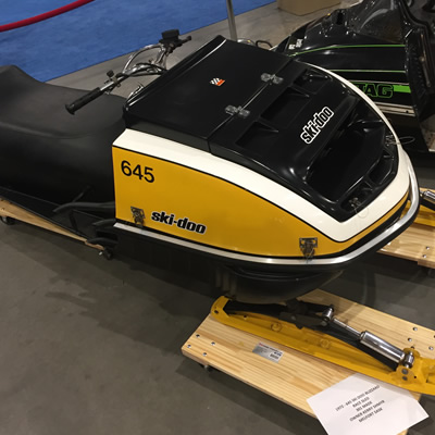 1972 Ski Doo Blizzard 645 Race Sled