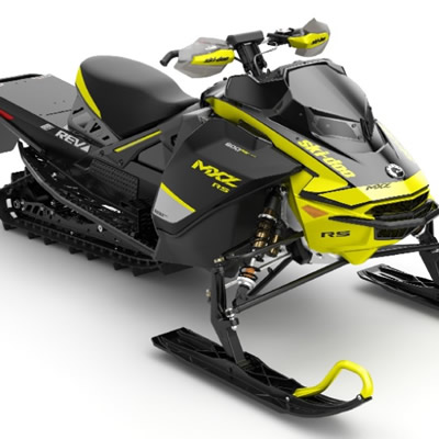 2020 Ski-Doo MXZx 600RS E-TEC snowmobile.