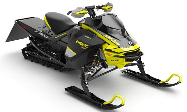 2020 Ski-Doo MXZx 600RS E-TEC snowmobile.