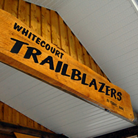 Whitecourt Trailblazers clubhouse