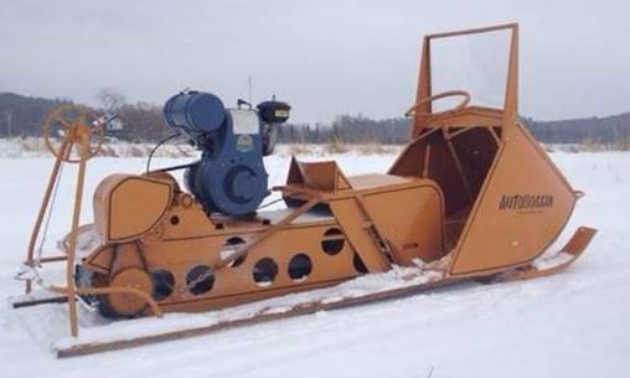 This 1960s Polaris Autoboggen was the first sled James Yaworski's father ever had.