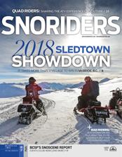 SnoRiders Magazine Mid Winter 2018 Cover