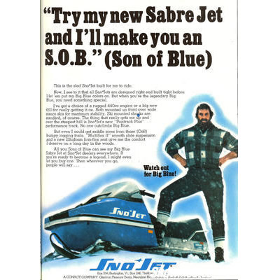 A vintage Sno-Jet ad.