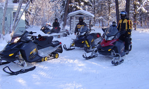 There is a good group of sledders in Nipawin, Saskatchewan.