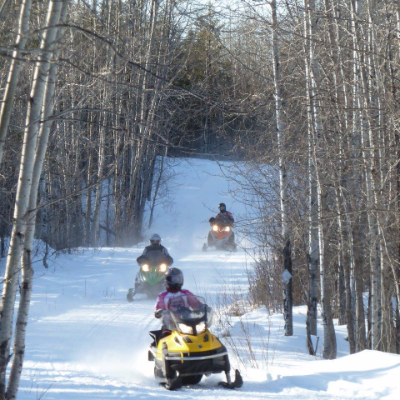 Trail 549 varies in terrain along its 120 kilometres.
