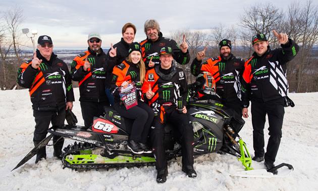 Group photo of Team 68, Tucker Hibbert's team.