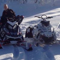 Explore the Sicamous terrain from the seat of your sled.