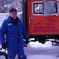 Angus Ross, a long time Member of the Bonnyville Snowdusters.