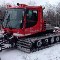 It's a full-time job to maintain the ever-expanding trail system around Athabasca, so in the winter of 2014/15, the club purchase a new Piston Bully to help them keep the trails smooth and safe for all. Jim Olson photo
