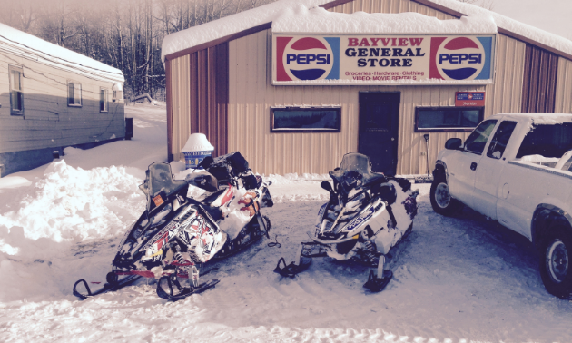 The Bayview General Store is one of Wes Jones' pit stops.