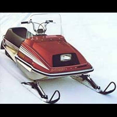 Old Sled Sighting: Yamaha 340 ET Enticer – an original