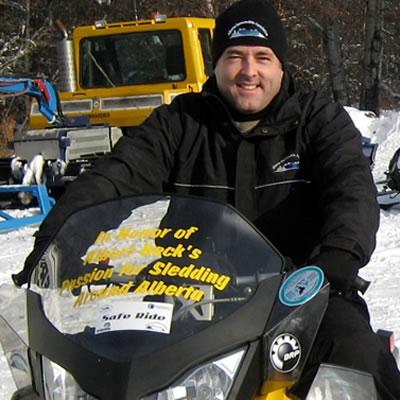 Chris Brooks, executive director of the Alberta Snowmobile Association.