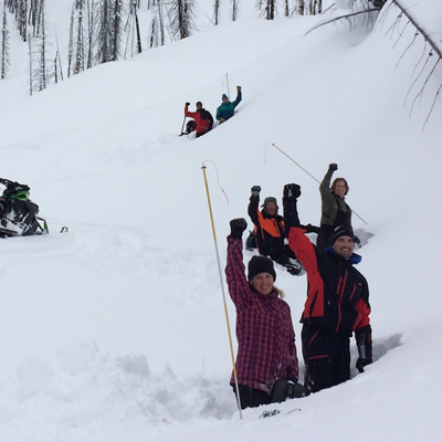Share your photos to win a free Avalanche Companion Rescue Course