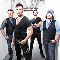 The four-piece band from Alberta, Boom Chucka Boys.
