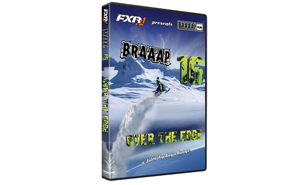 The logo for Braaap 16 snowmobiling movie.