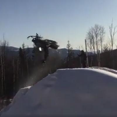 Flipping an old Yamaha Bravo.