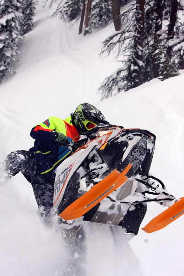 Why Bret Rasmussen is the Professor of mountain sledding
