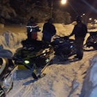 snowmobiles in Buffalo, New York