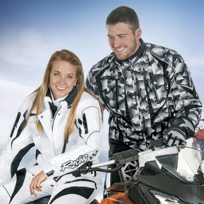 Two people staying warm and comfortable in Choko Design apparel