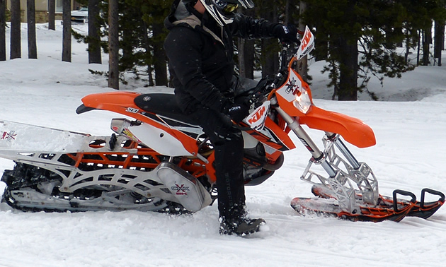 Yeti Snow Bike >> Carving a timeline of snowmobile history | SnoRiders
