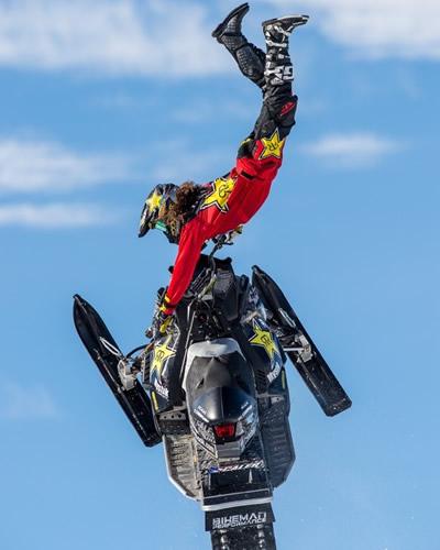 Polaris rider Colten Moore.