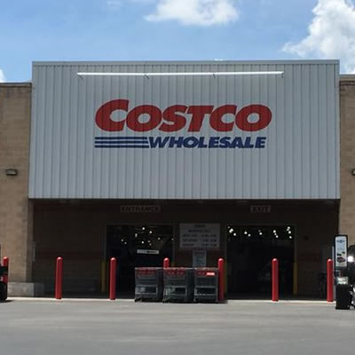 Picture of a Costco store.