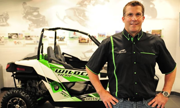 Arctic Cat's Craig Kennedy.