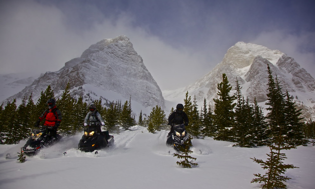 Window Mountain Trail is one of the must-ride areas near the Crowsnest Pass, Alberta. - Photo courtesy Travel Alberta