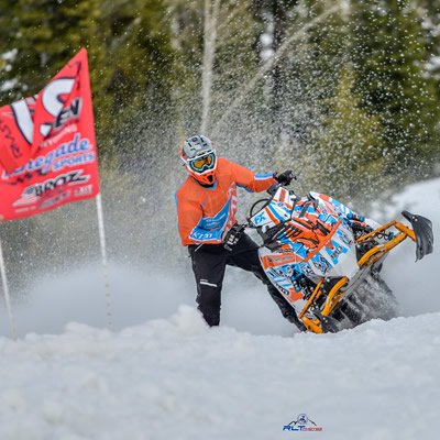 Keith Curtis is in fine form at the recent RMSHA Beaver Mountain HIllclimb.