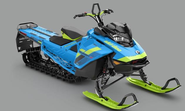 Driveline update on sled.