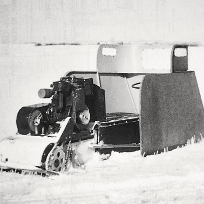 The Eggleton Power Toboggan was created in Raymore, Saskatchewan by Gordon Eggleton, somewhat similar to the one reader Cal Carter remembers.