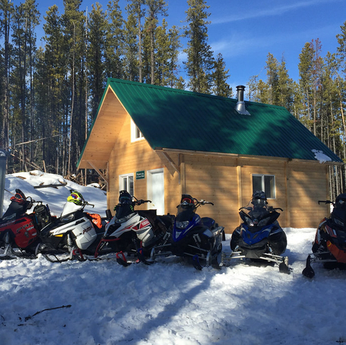 Fox Creek snowmobile club cabin