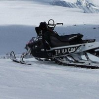 Snowmobiling in Houston, BC