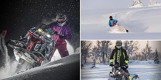 Jethwear snowmobiling gear.