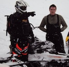 A cold day riding with ten guys in -40 conditions at Kakwa park.