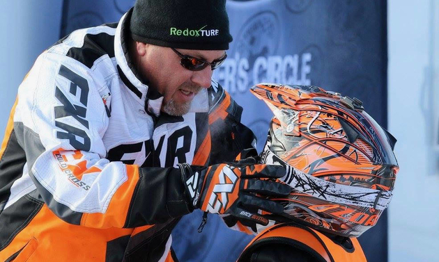 Glen Gusta has a passion for teaching kids the sport of snowmobile racing.