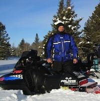 Lac du Bonnet snowmobiling