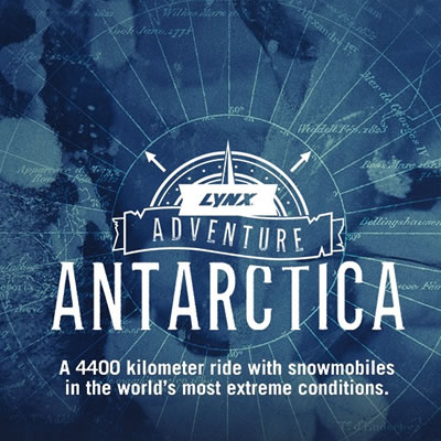 Graphic of the Lynx Adventure-Antarctica.