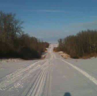 Melfort, Saskatchewan, snowmobiling