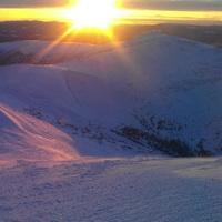 Unknown rider on Morfee Mountain in Mackenzie.   Photo by: Marlon Spooner