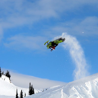 Morgan Gamache whips it for the cover of Braaap.