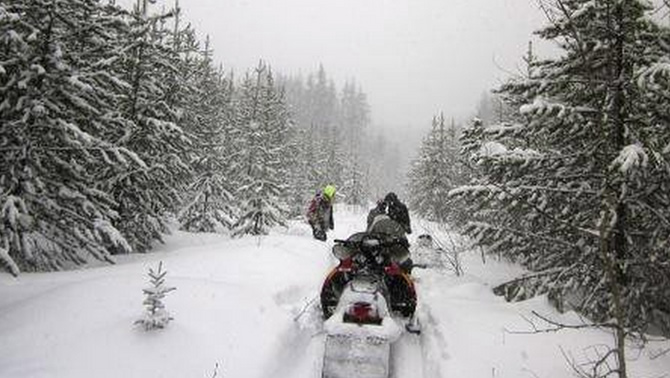 38f213d9c6c Snowmobilers in the Cariboo region are one step closer to completion of the  Gold Rush Snowmobile